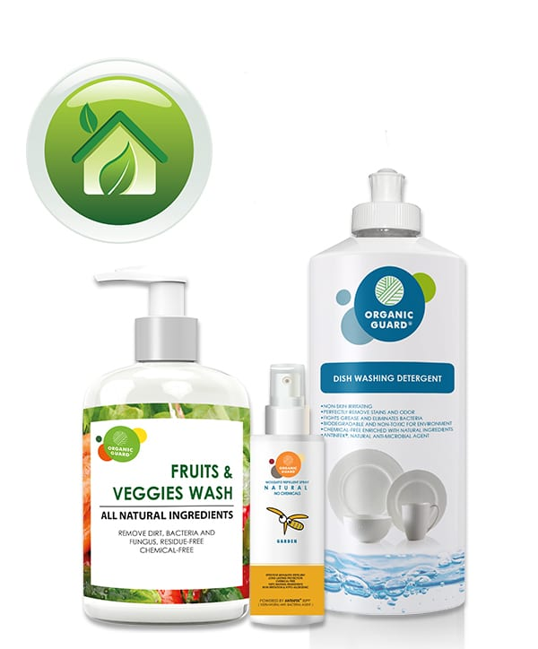 ORGANIC GUARD home care products