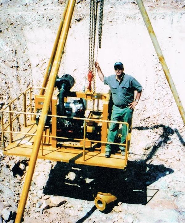 Mining gold and diamonds in Liberia