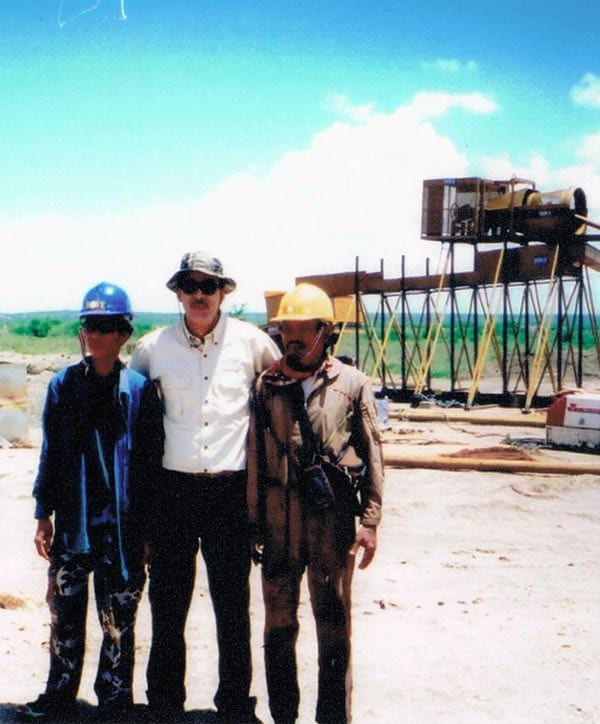 Mining gold and diamonds in Sierra Leone