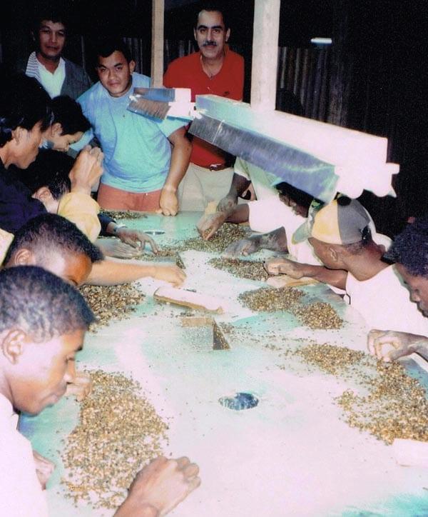 Precious stones in Madagascar